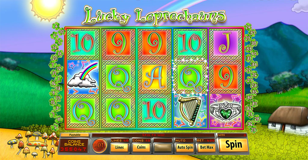 Spiele Lucky Leprechauns (Saucify) - Video Slots Online